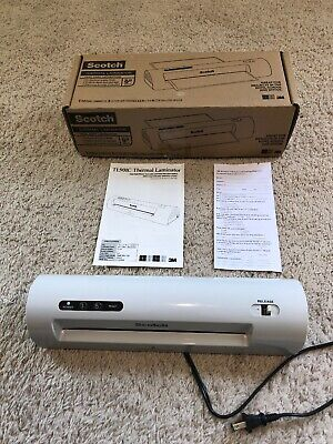 Scotch Thermal Laminator Up To 9 Width Tl901c