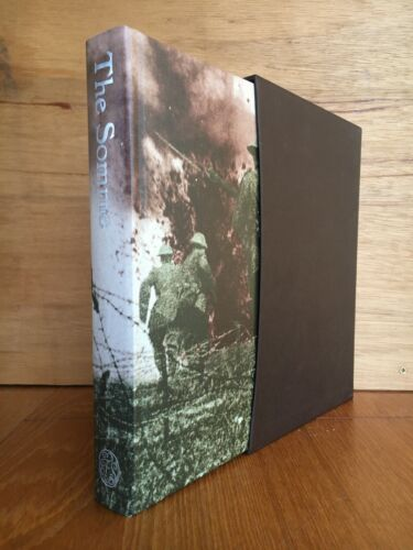 The Somme:  An Eyewitness History Foley and McCartney Folio Society in Slipcase