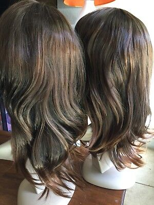2 Gorgeous Wavy Wigs with Bangs Hair For Women Cosplay - Bulk Wigs