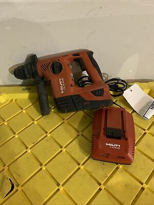 Hilti Cordless Te 4-a18 Batterycharger Rotary Hammer Drill Sds
