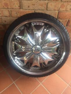 "20"" Rims - Dolce Mag Wheels"