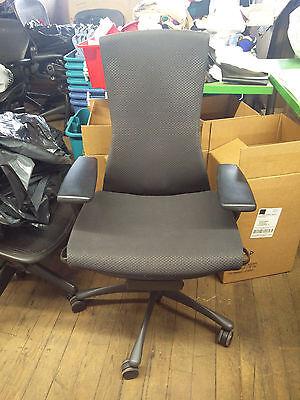 Herman Miller Embody Chair - Black Frame Balance Fabric - Fully Loaded