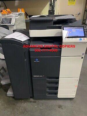 Konica Minolta Bizhub C284e Color Copier Printer Scanner Network Low 8k Color