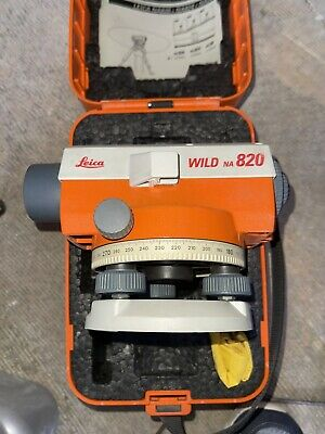 Leica Wild 820 Automatic Optical Level With Case