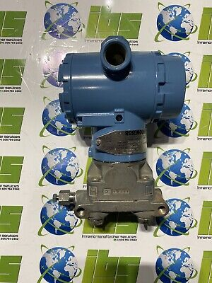 New Rosemount 3051c Pressure Transmitter Wo Mounting Hardware - 3051cg5a22a1am5