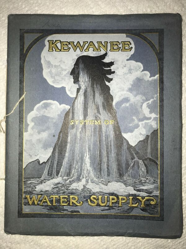 ORIGINAL 1907 Kewanee System of Water Supply Co. Sales Catalog Book Manual