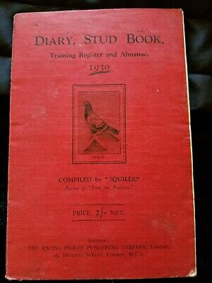 Diary, Stud Book, Training Register and Almanac 1930 Compiled by