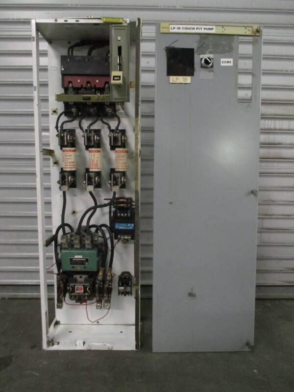 "Siemens Tiastar Furnas 89 Size 4 Starter 400 Amp Fusible 48"" MCC MCCB Bucket Sz4"