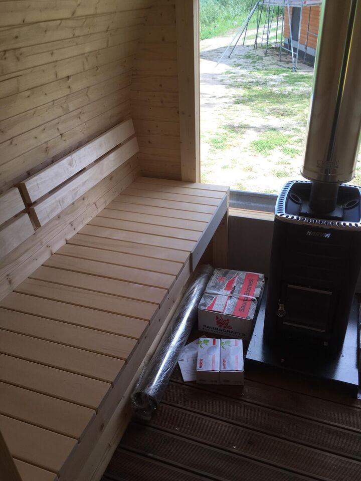 Sauna 350cm inkl. Vorraum und Holzofen sofort verfügbar in Wandlitz