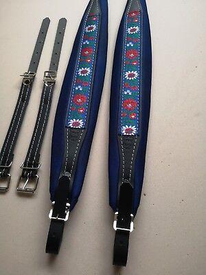 Folk Accordeon shoulder Straps 8 cm, Akkordeongurte,coreas,Bretelles,Courroies