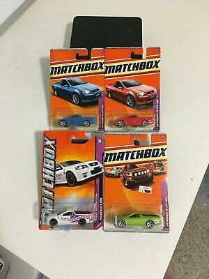 4-Packs Matchbox Holden UTE SSV Pickup Set - Classic Lot