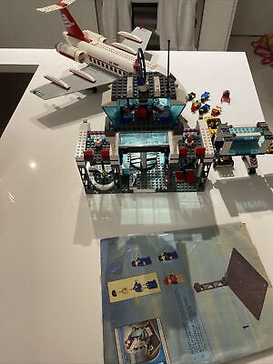 LEGO City Airport 7894 Plane Tower Set 100% COMPLETE w/ minifigs (See Desc.)