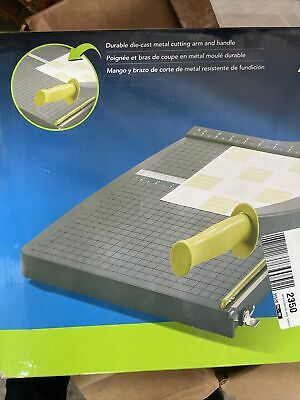 Swingline Paper Trimmer Guillotine Paper Cutter 15 Inches Cut Length 10 Sheet