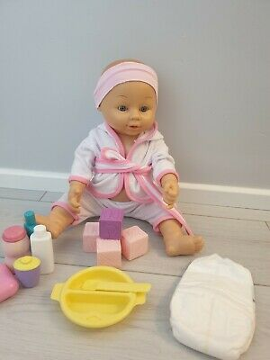 Blue Eyes  Baby Doll and accessories