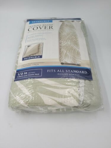 """Ironing Board Cover Coated Thick Padding Heat Resistant &Scorch Pad 15"""" x 54"""""""