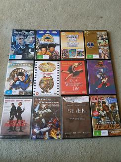 DVDs $3 each