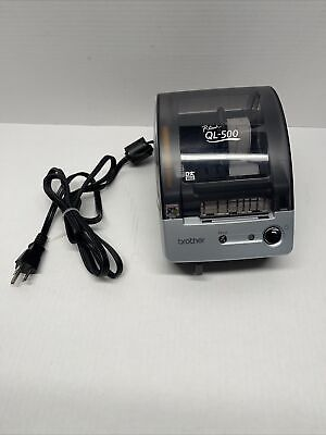 Brother P-touch Ql-500 Thermal Label Printer Address Labels No Usb Cable Include
