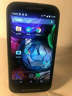 Motorola MOTO E XT1021 - 4GB - Black (Tesco Network) Smartphone Android Mobile