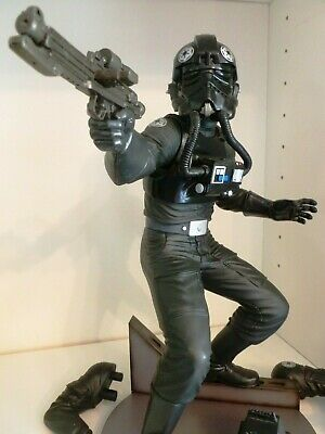 Kotobukiya ArtFX STAR WARS IMPERIAL TIE FIGHTER PILOT 1:7 Scale Statue Figure.
