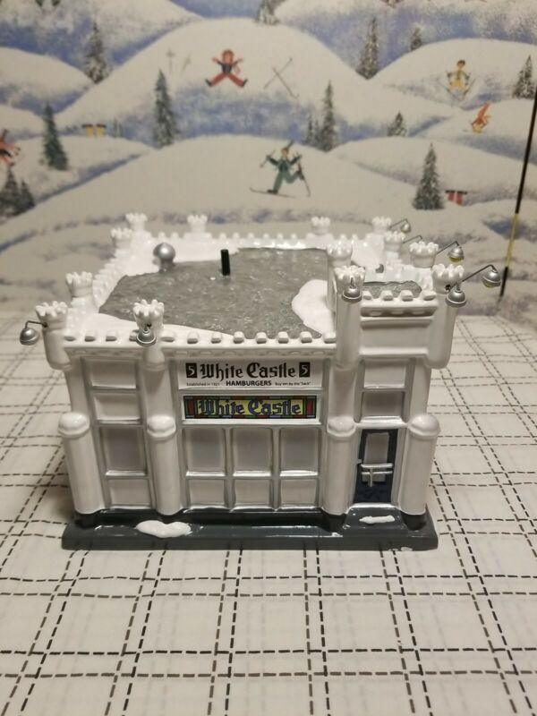 "Department 56 The Original Snow Village ""White Castle"" 805508 Original Box RARE"