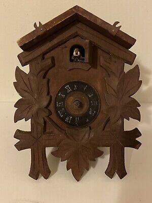 Vintage German Cuckoo Clock For Parts Or Restoration Cuckoo Clock MFG Co