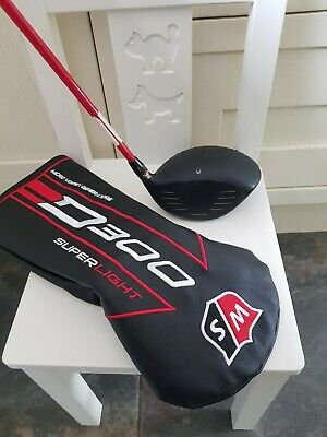 Left-Handed Wilson Staff D300 10.5 Degree Driver Regular Graphite Shaft