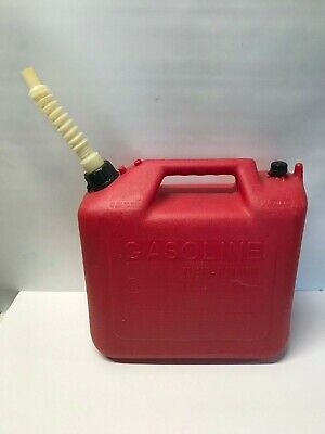 Wedco 5 Gallon Vented Gas Fuel Can W Spout Usa 5203