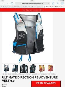 Ultimate direction PB adventure vest 3.0 Cromer Manly Area Preview