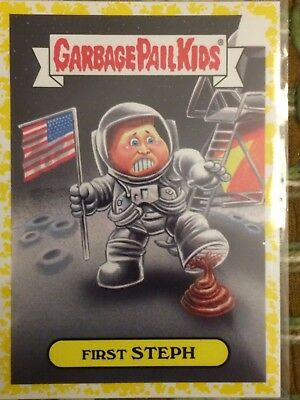 Garbage Pail Kids As American As Apple Pie Yellow Parallel First Steph