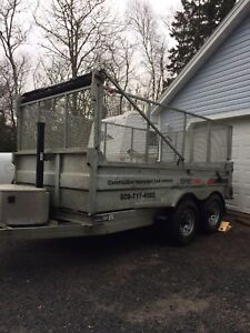 2017 k series dump trailer galvanized