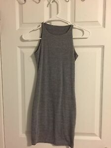 American Apparel grey tank dress