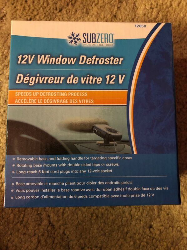 Subzero 12V Window Defroster