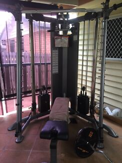 Gym TuffStuff cxt100-125 functional trainer&Smith Rochedale South Brisbane South East Preview