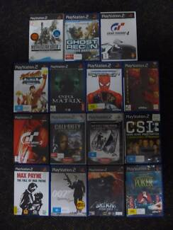 15 PS2 playstation 2 games!! Leichhardt Leichhardt Area Preview