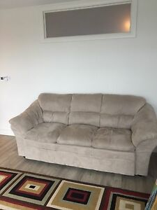 Beige couch / sofa