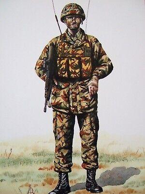MILITARY POSTCARD-PTE IST BN DEVONSHIRE& DORSET REGT N.IRELAND 1989- ALIX BAKER
