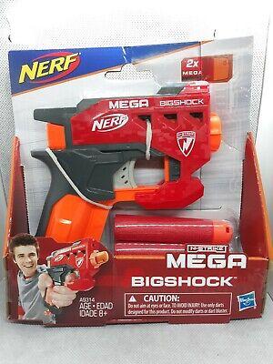 NEW Nerf N-Strike Mega BIGSHOCK w/ 2 Mega Darts Ages 8+