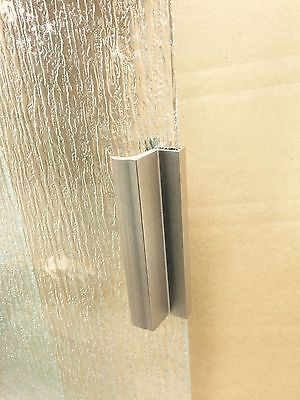 Shower Door Handle (Chrome / Silver Shower Door Handle with Metal)