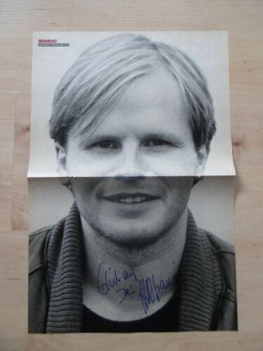 Herbert Grönemeyer Autogramm signed 28x41 cm Poster gefaltet