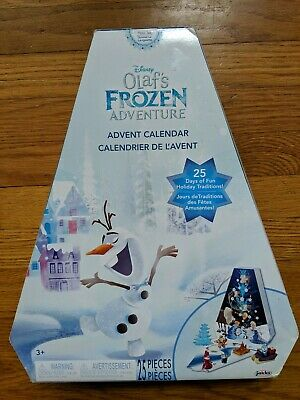 NIB New Sealed Disney Olaf's Frozen Adventure Advent Calendar 25 Figures