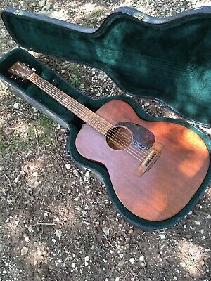 Martin Acoustic 000-15M Acoustic Guitar With Hardshell Case And Fishman Pickup.