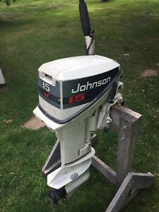 15HP Johnson Outboard  (PARTS MOTOR)