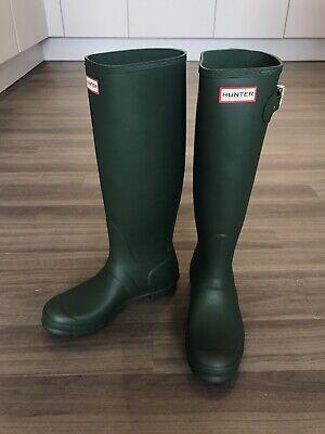 Ladies Original Hunter Wellies Tall UK Size 6