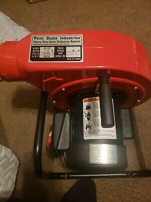 Portable Heavy Duty Penn State Industries Psi Cyclone Dust Collector 1 12 Hp