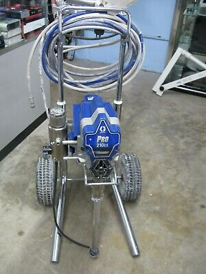Graco-17c305 Pro 210es Airless Paint Sprayer With Proconnect Cart Excellent