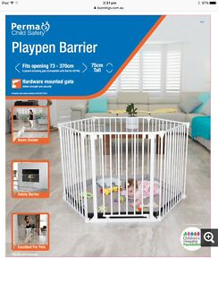 Playpen Barrier