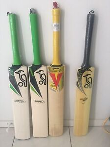 4 x cricket bats Griffin Pine Rivers Area Preview