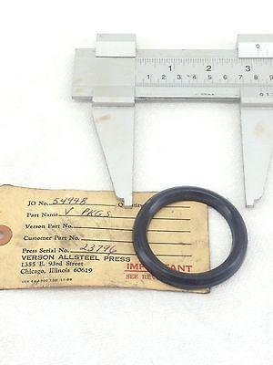 New Verson Allsteel Press 23796 Mv-6225-31 V-ring Pkg Seals 91a-200 2-pka186