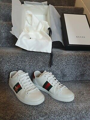 Gucci Women's Ace embroidered sneaker Size 4 Uk 37 Eu