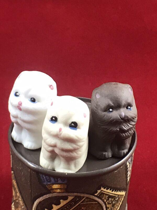 Vintage Bisque Porcelain Kitten